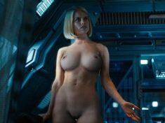 闇黑無界:星際爭霸戰 Alice Eve 愛麗絲伊芙  艾莉絲·伊芙 刪除的裸體場景