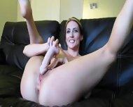 Hot Cam Girl On Sofa