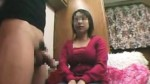 Attractive Japanese babe milks a thick shaft with her skill