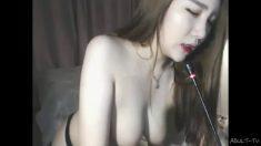 韓國女主播對著椅子自慰