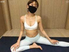 韓國女主播性感瑜伽