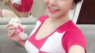 越南明星妹Tram Anh,不雅影片流出,是個巨乳正妹